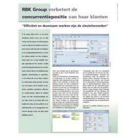 RBK Group verbetert de concurrentiepositie van haar klanten