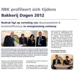 RBK profileert zich tijdens Bakkerijdagen